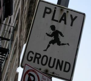 playground, SoHo, NY (copyright 2005 Diana Rico)